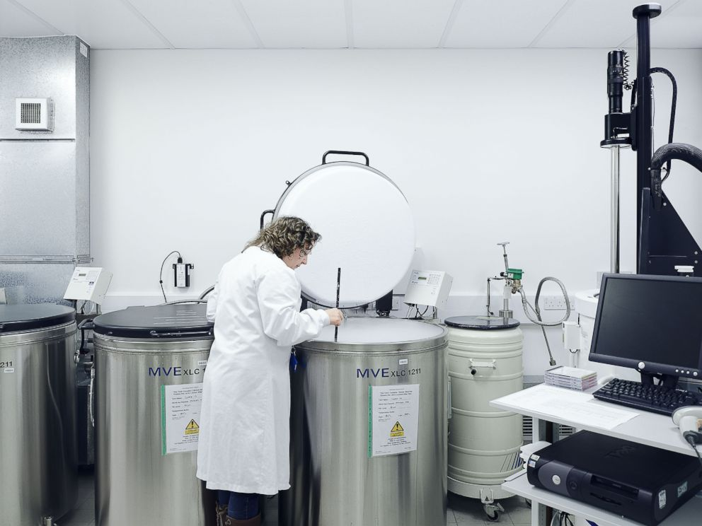 PHOTO: The International Blood Group Reference Laboratory at the NHS Blood & Transplants Filton Blood Center, England.