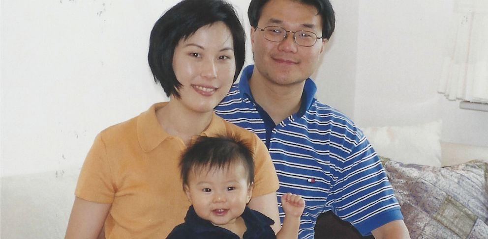 PHOTO: Lisa Yue and Eddie Yu with their son Bryan, who died at 11 months old