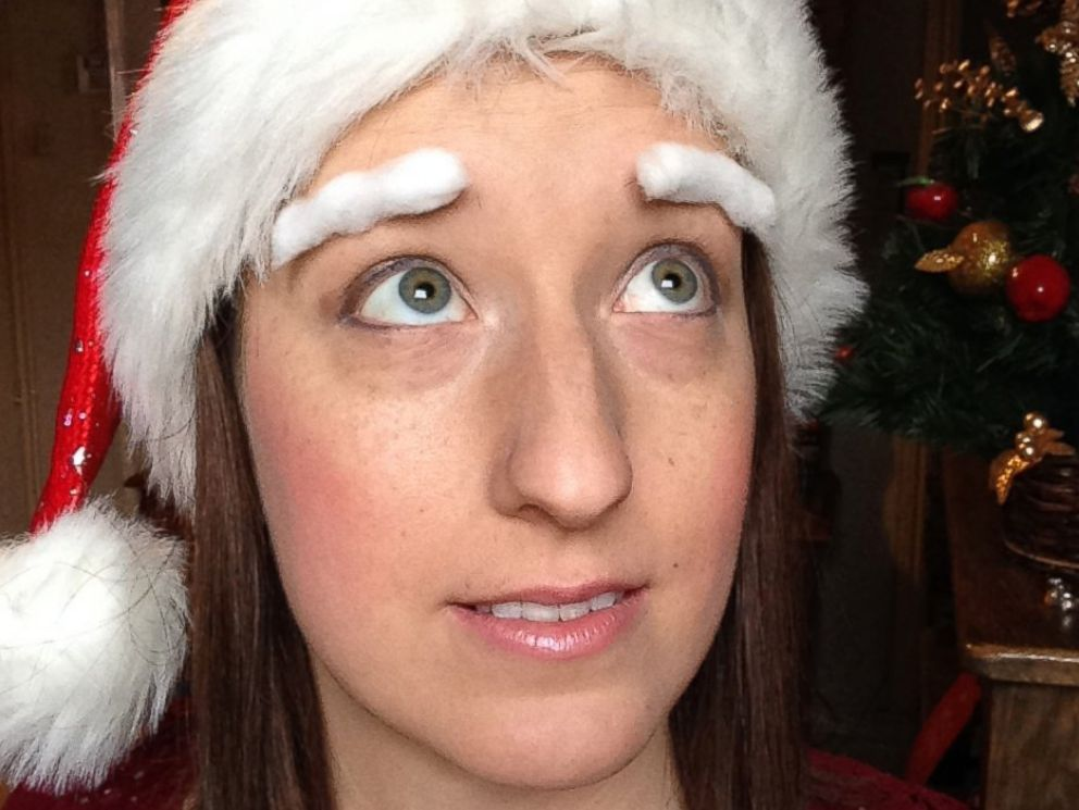 Why These Patients Are Decorating Their Eyebrows For Holidays Abc News