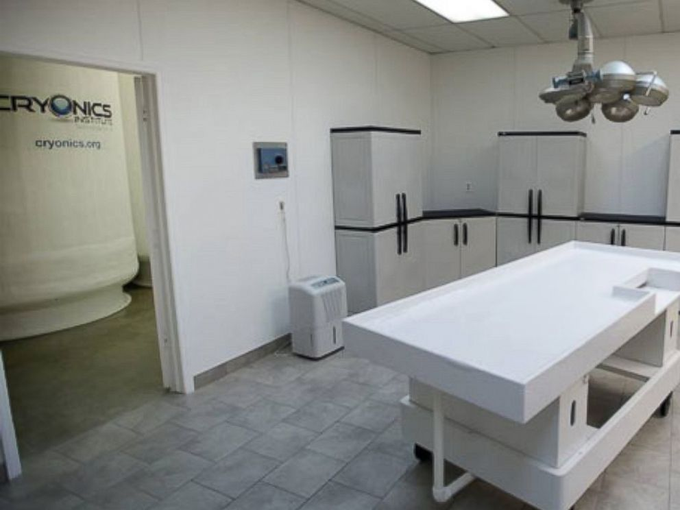 PHOTO: The Cryonics Institute