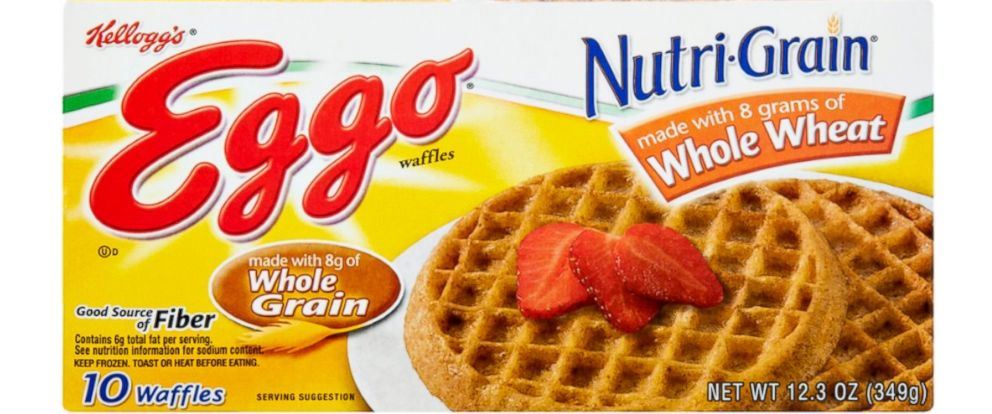 PHOTO: Kelloggs has voluntarily recalled their Eggo Nutri-Grain WHole Wheat waffle.