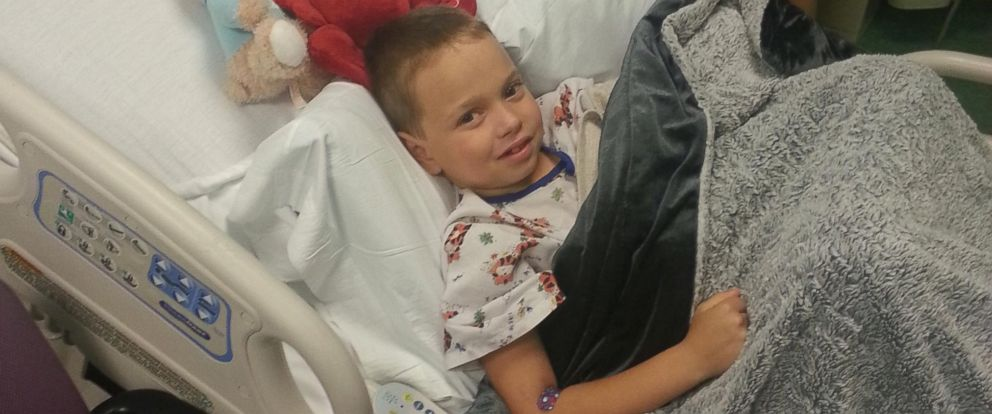 PHOTO: Haiden spent less than a week in the hospital after his transplant.