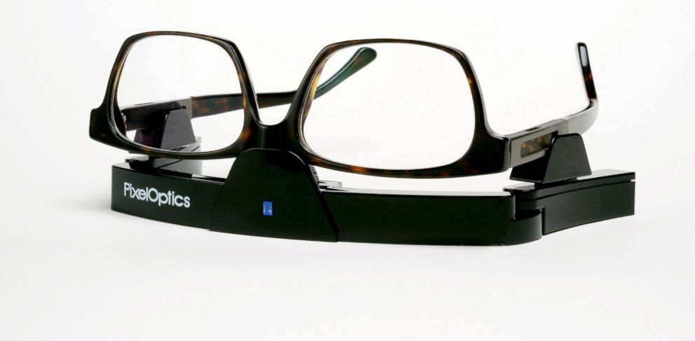 PHOTO: Self focusing glasses allow users to instantly adjust prescription.