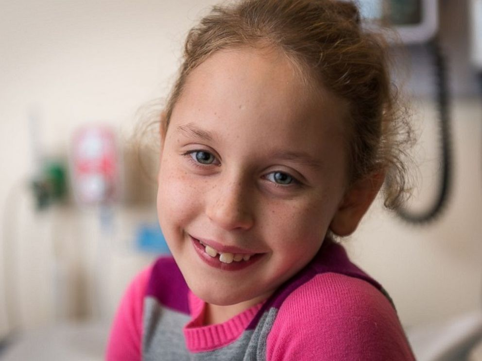 PHOTO: Pediatric patient Allison Schablein.