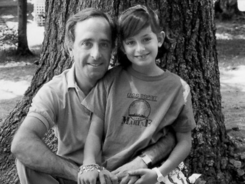 PHOTO: Carrie Davis is shown here in a childhood photo with her father John Davis.
