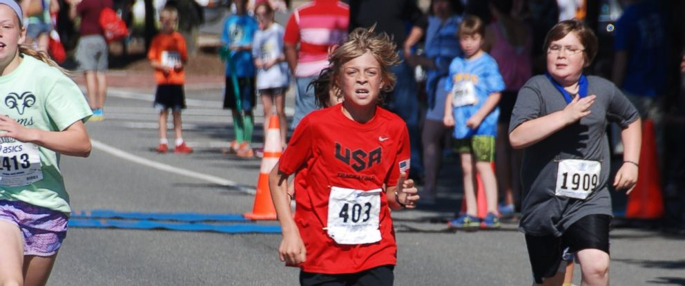PHOTO: Reinhardt Harrison, 10, of Church Falls, Virginia, set a new world record
