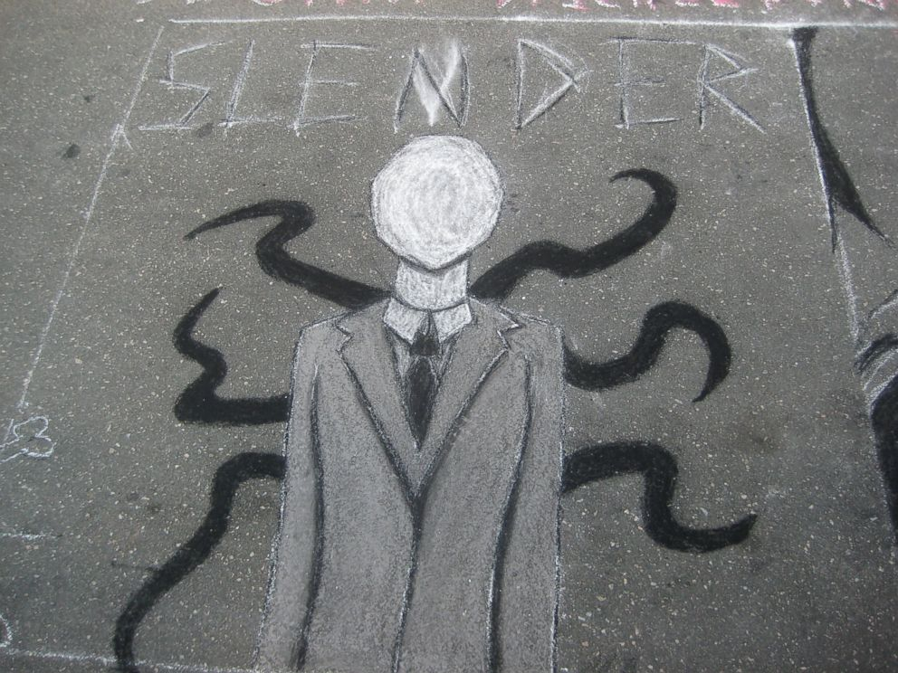 PHOTO: This is one of the many drawings of Slender Man, a popular, folkloric internet meme. PHOTO: Two Wisconsin girls told police they stabbed their friend to please Slender Man, but experts say the meme is not to blame for the crime. <p itemprop=
