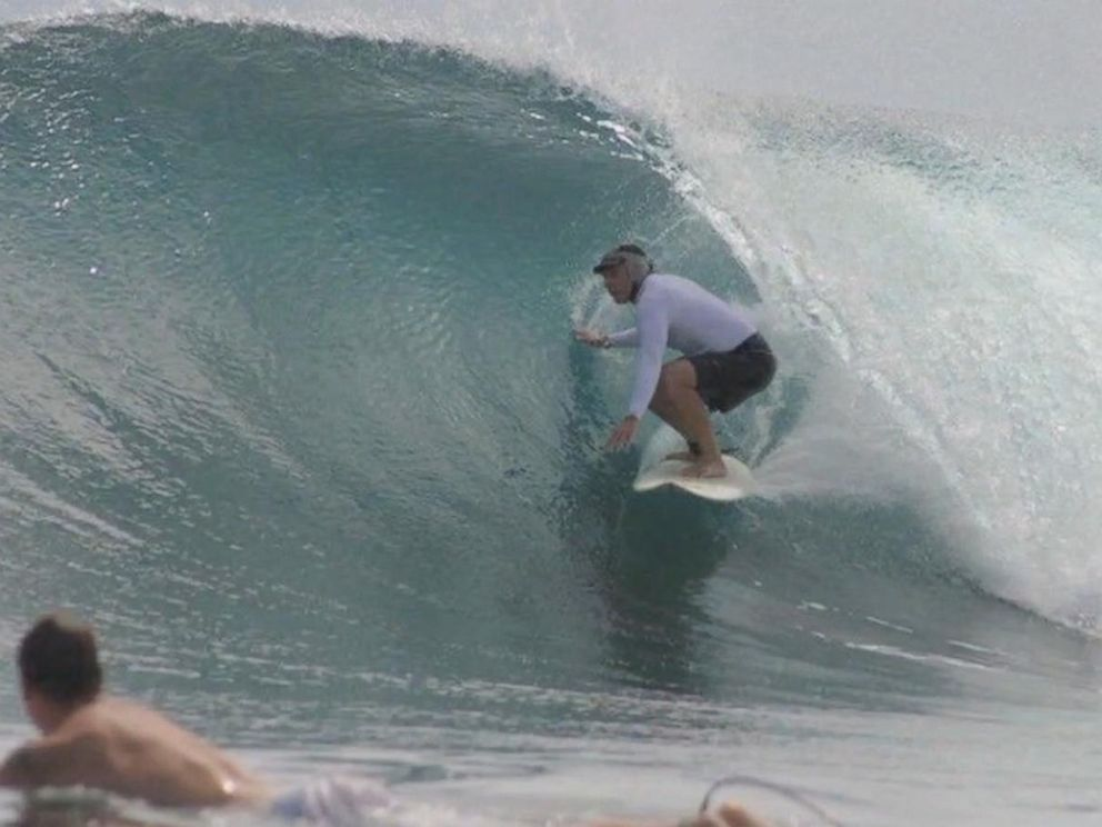 PHOTO: Ault was a well-known community surfer in San Diego.