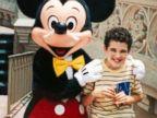 PHOTO: Owen Suskind, age 12, during a visit to Walt Disney World.