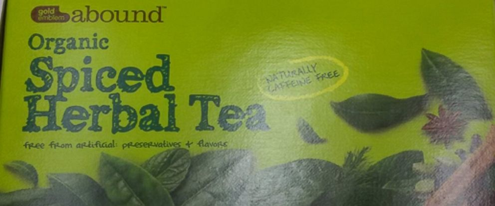 PHOTO:CVS Pharmacy announced today that it has voluntarily recalled select cases of Gold Emblem Abound Organic Spiced Herbal Tea following notification from the manufacturer that the product is potentially contaminated with Salmonella.