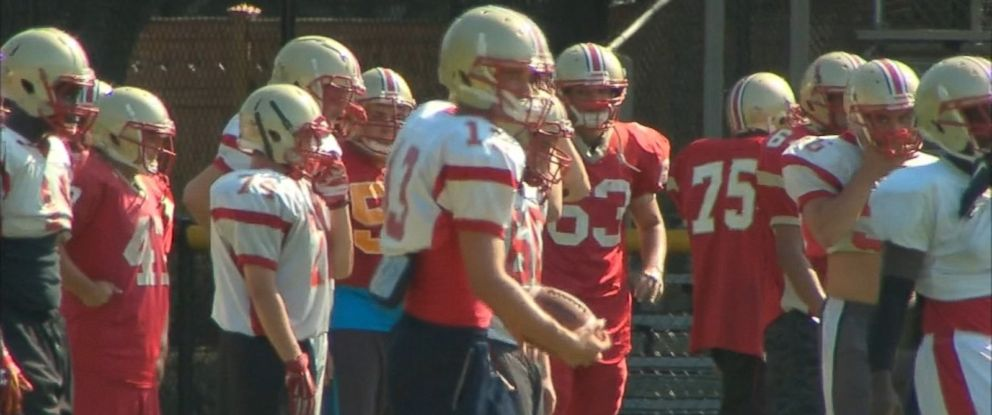 PHOTO: T.J. Cavaliere apologized after a drill left players with blistered hands.