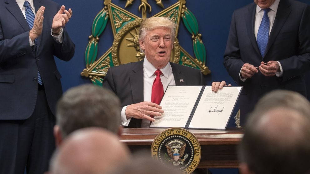 Proposed Trump Executive Order Could Curtail LGBT Rights ...Trump Executive Order Tonight