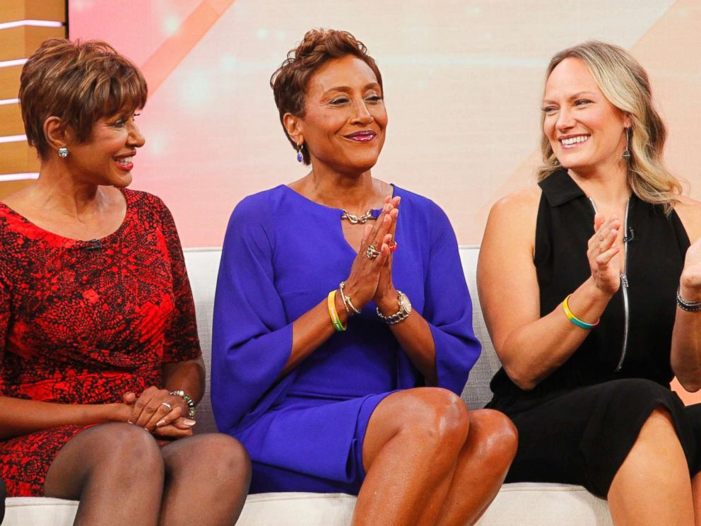PHOTO:GMA co-anchor Robin Roberts is celebrating her fifth birthday, the anniversary of the day she received a life-saving bone marrow transplant.