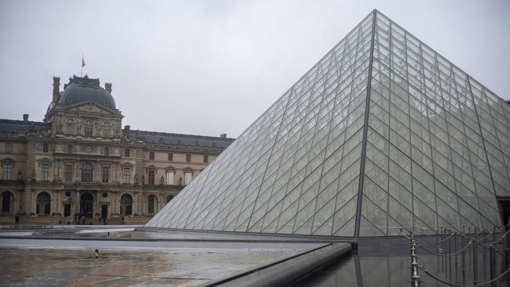 France S Louvre Stays Shut Amid Staff Fears Of Virus Spread Abc News