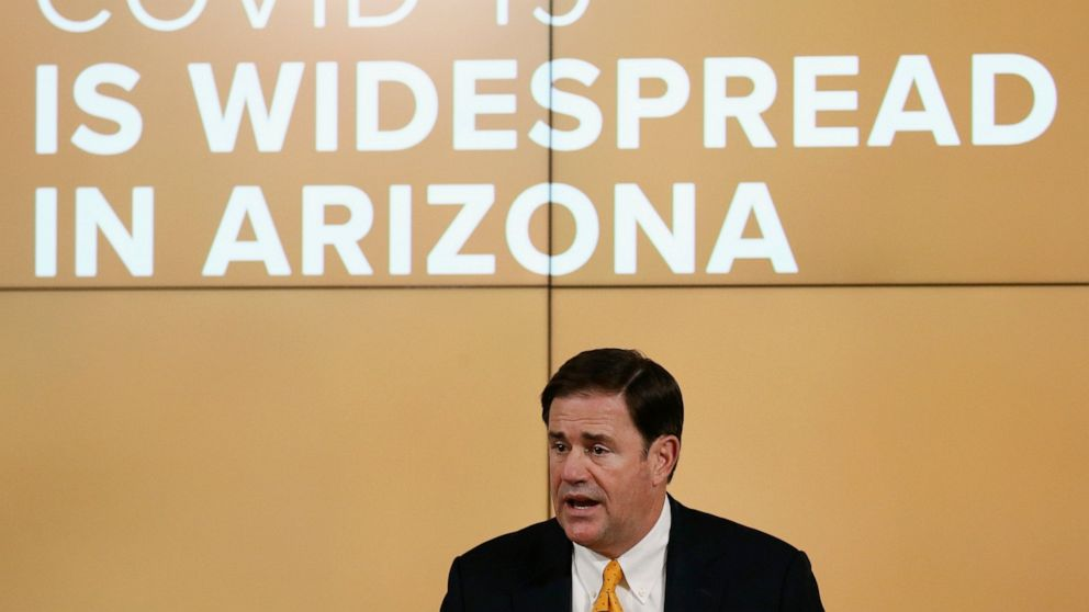 Governors who shortly reopened backpedal as virus surges thumbnail