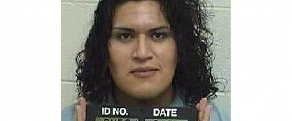 In this Dec. 10, 2014, photo provided by the Idaho Department of Correction is Adree Edmo. A federal appellate court hears arguments Thursday, May 16, 2019, in a lawsuit brought by Adree Edmo, a transgender Idaho inmate, who says the state is wrongly