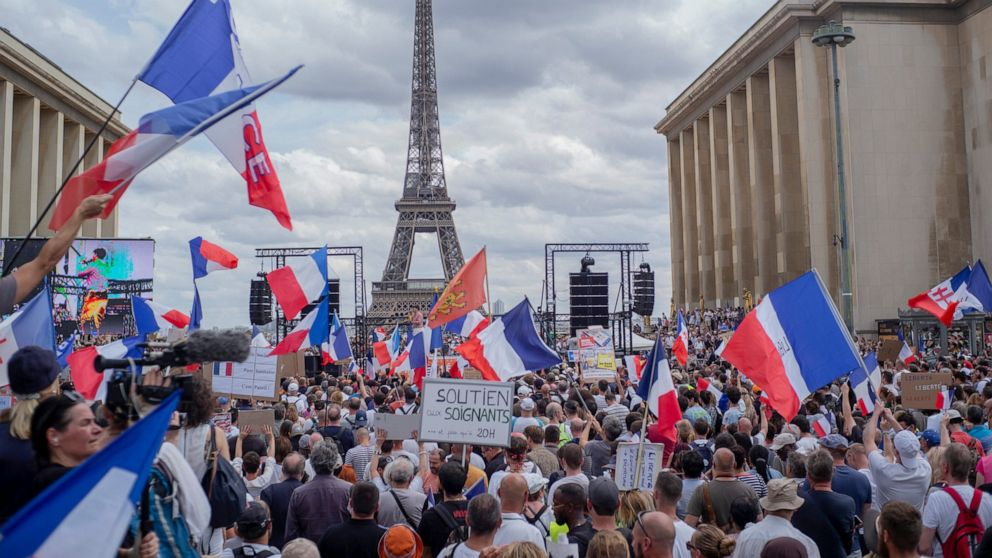 France: Macron requires unity after anti-vaccine protests