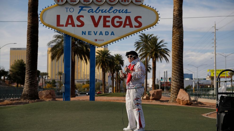 Muted And Vacant Las Vegas Struggles To Survive Shutdown Abc News