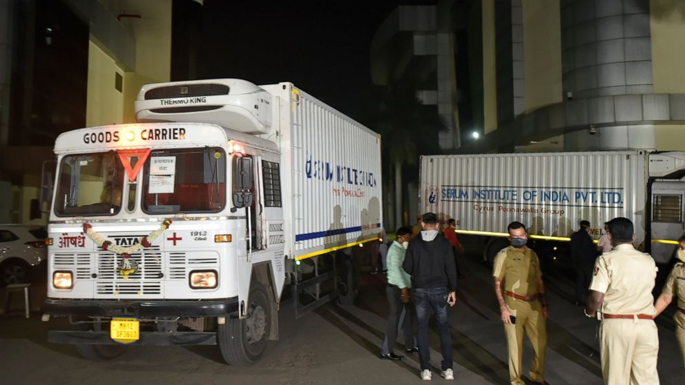 Asia Today: India starts shipping COVID-19 vaccine to cities - ABC News