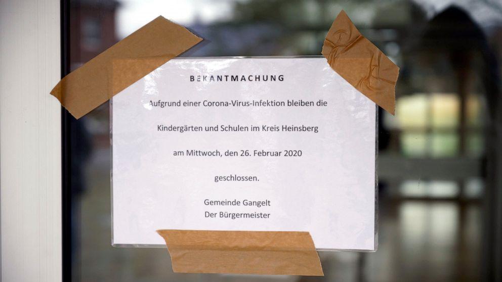 coronavirus tyskland