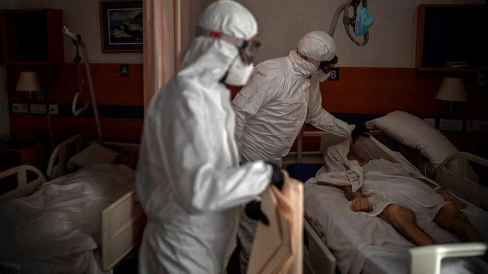 Image of article 'Europe battles surge in coronavirus deaths in nursing homes'