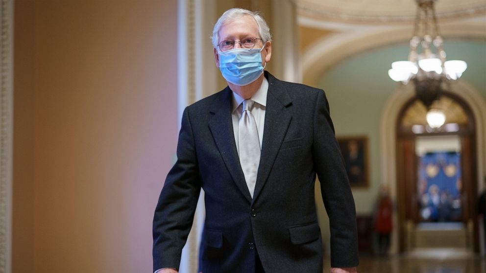 McConnell urges fellow Republicans to get COVID-19 vaccines