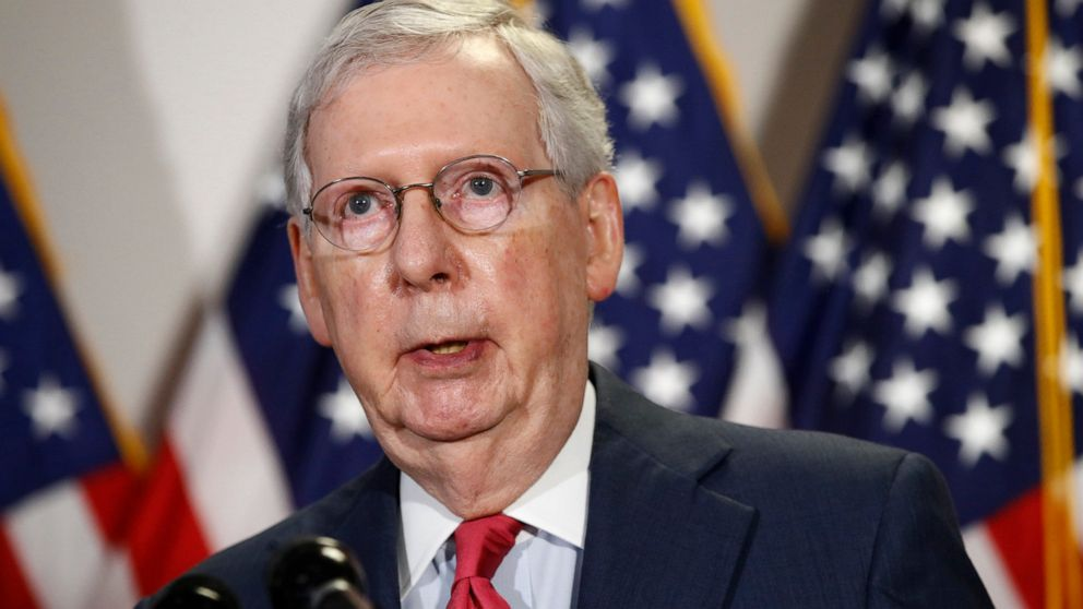 Mitch McConnell stresses need to wear face masks in public thumbnail
