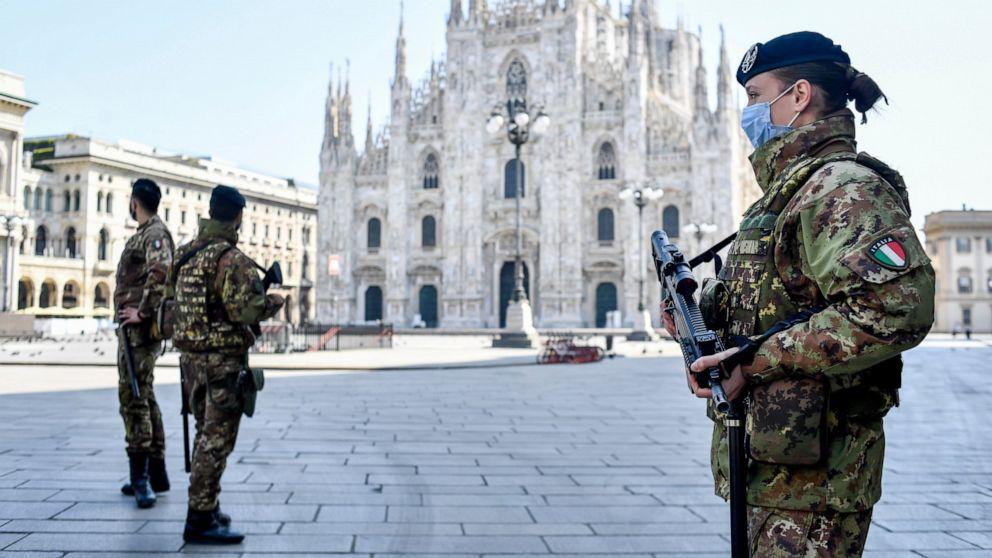 Eropa melihat lebih banyak tanda-tanda harapan seperti Italia virus kurva jatuh