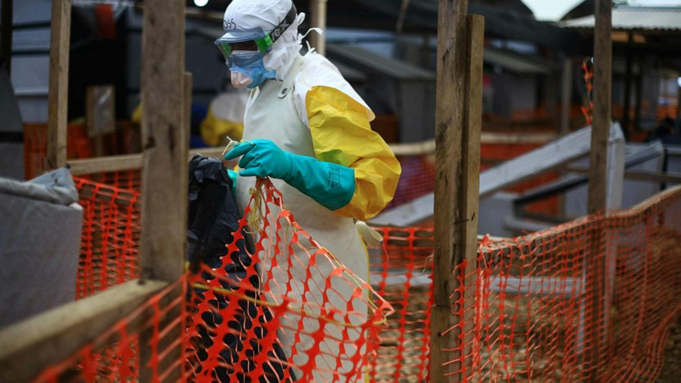 New attack on Ebola center in Congo; 1 militia member killed