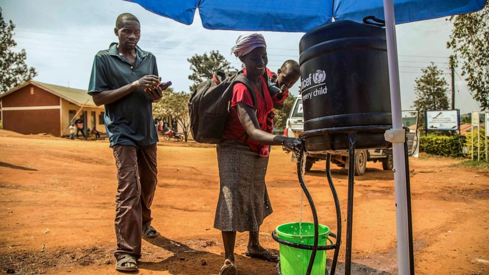 The Latest: UN says Ebola not yet a global emergency