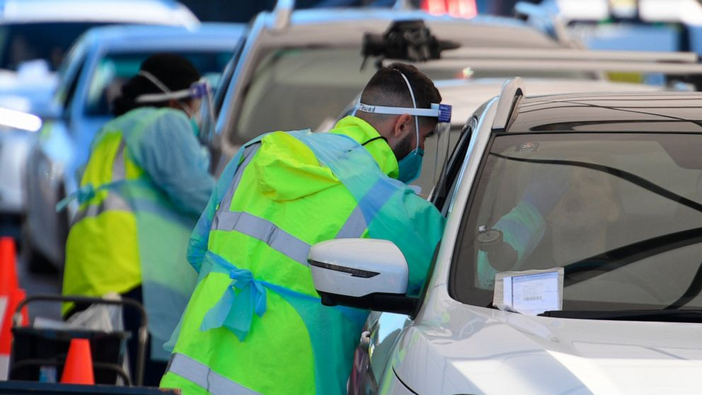 Parts of Sydney going into lockdown as virus outbreak grows