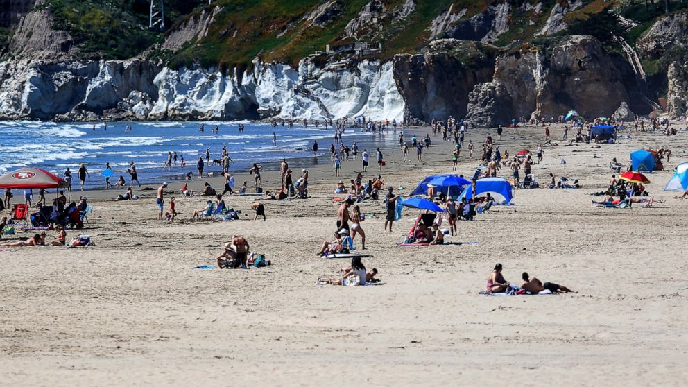Surf's down in California: Governor will close beaches thumbnail