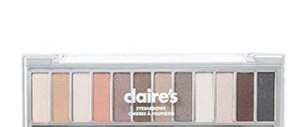 This photo provided by the FDA shows Claires Eyeshadows. Claire's is recalling Claires Eyeshadows and two other makeup products after U.S. regulators warned people not to use them because of possible asbestos. Last week, the Food and Drug Administr
