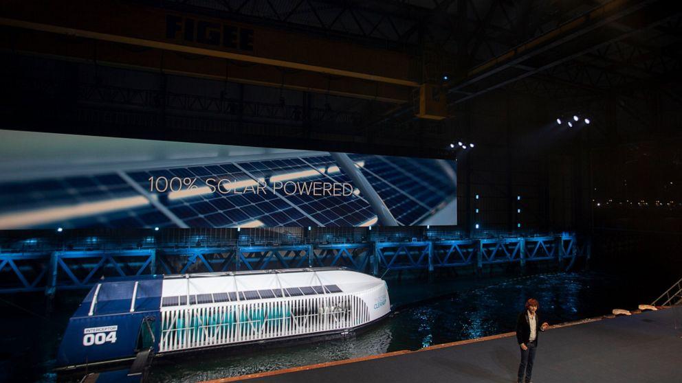 Ολλανδός εφευρέτης αποκαλύπτει συσκευή σέσουλα πλαστική των ποταμών