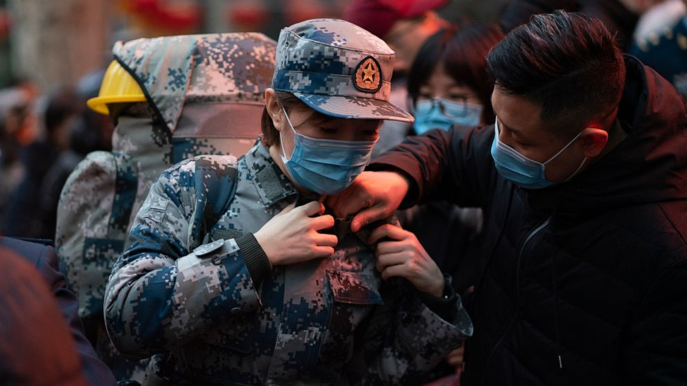 Virus death toll in China rises to 56 with about 2,000 cases thumbnail