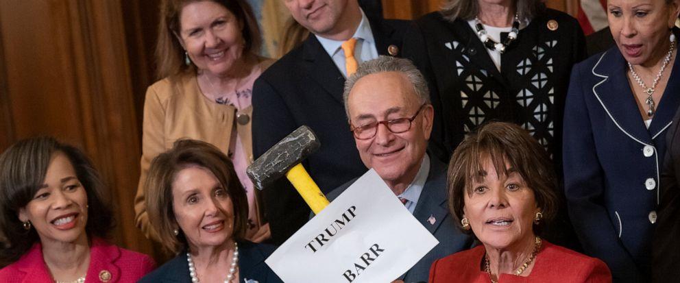 Nancy Pelosi, Chuck Schumer, Anna Eshoo, Lisa Blunt Rochester