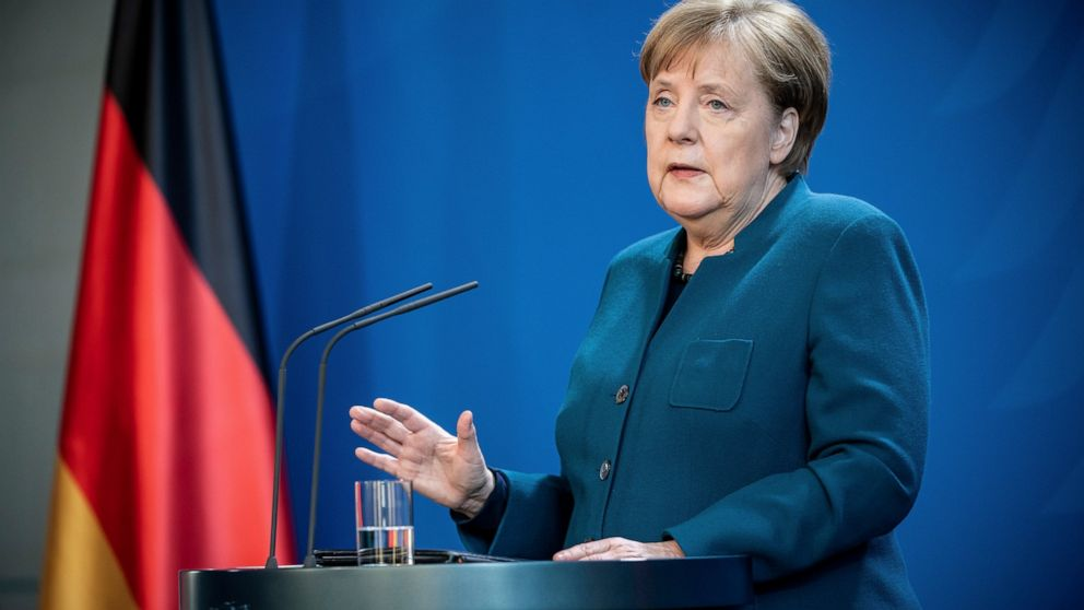 Η γερμανία της Μέρκελ λάμπει σε ιός της κρίσης, ακόμη και ως δύναμη εξασθενεί