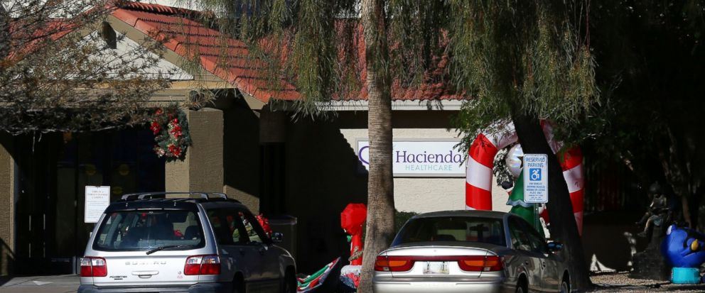 This Friday, Jan. 4, 2019, photo shows Hacienda HealthCare in Phoenix. The revelation that a Phoenix woman in a vegetative state recently gave birth has prompted Hacienda HealthCare CEO Bill Timmons to resign, putting a spotlight on the safety of lon