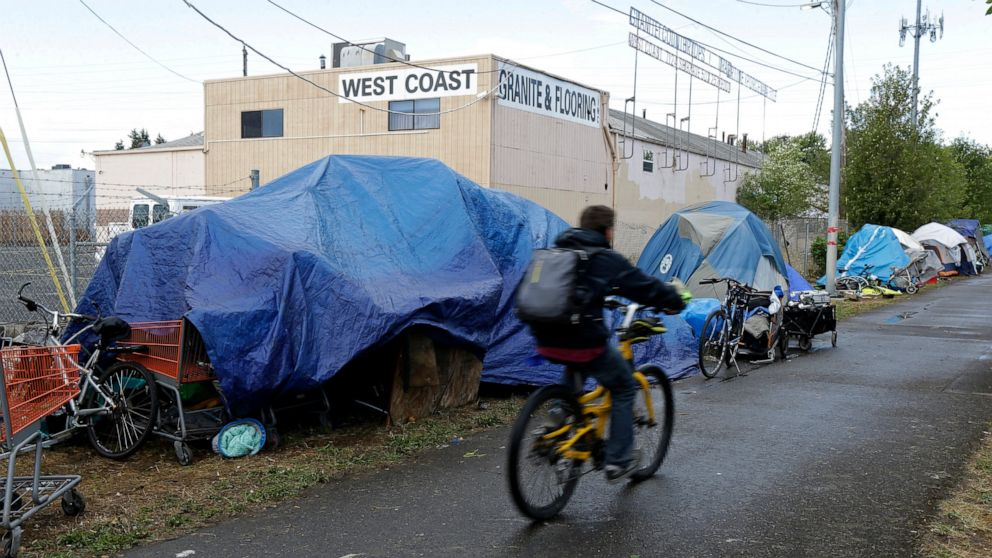 Portland, Oregon, homeless tax tests voter mood in pandemic thumbnail