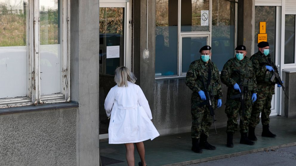 Balkans fights virus amid lack of doctors, medical supplies thumbnail