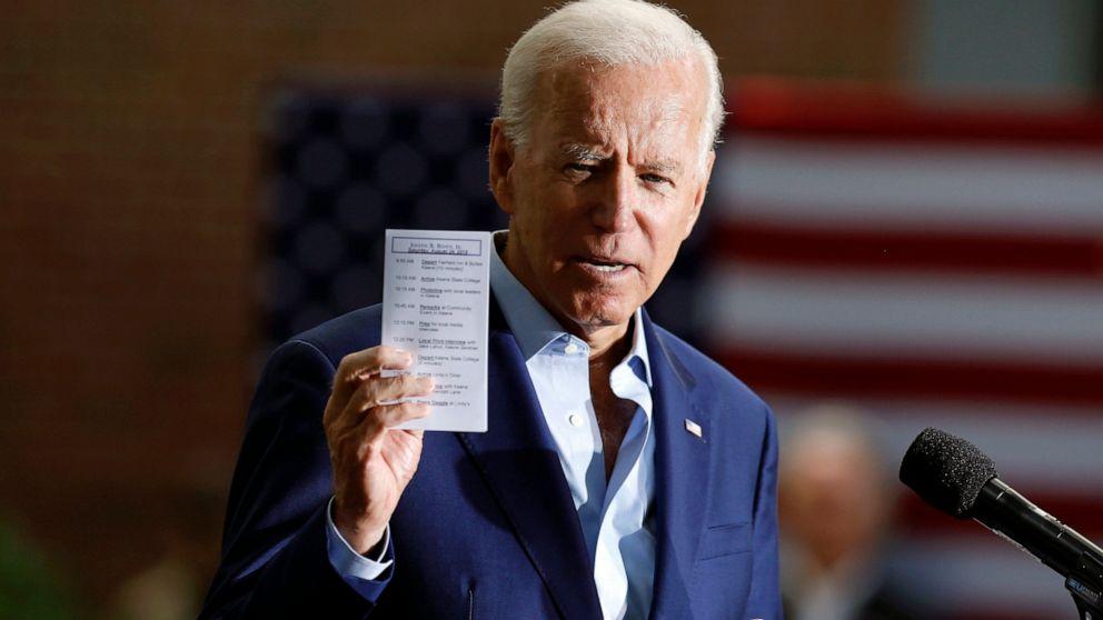 Biden health plan aims far beyond legacy of 'Obamacare' - ABC News