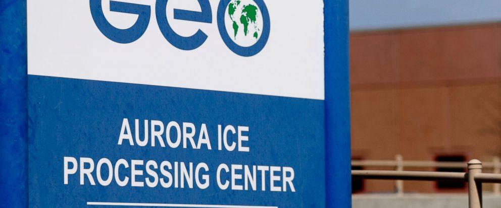 Geo Group immigrant detainment facility in aurora, colo