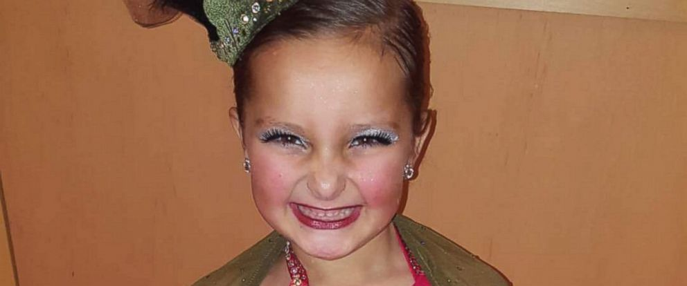 Tessa Puma, 6, lost her leg to an infection that resulted from strep throat.