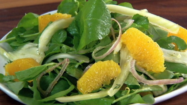 "VIEW: Michael Simon of ""The Chew"" shares his recipe for a citrus and fennel salad."