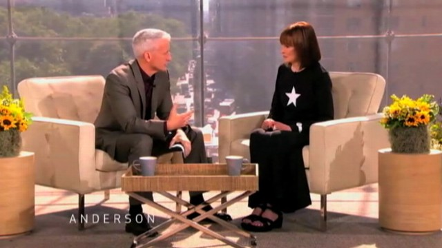 "VIDEO: Cooper and Gloria Vanderbilt discuss tragedy and difficulty finding ""closure."""