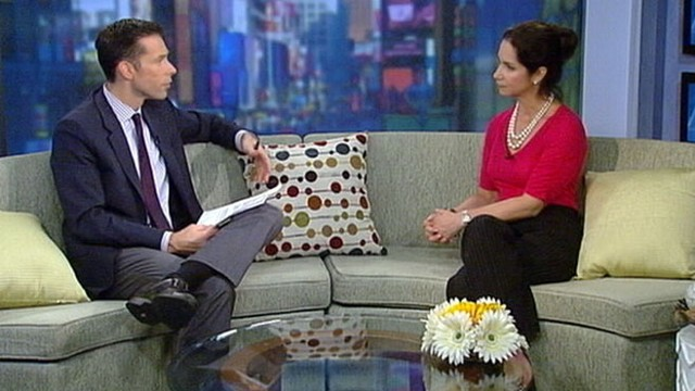 VIDEO: Dr Saralyn Mark raises awareness of ovarian cancer.
