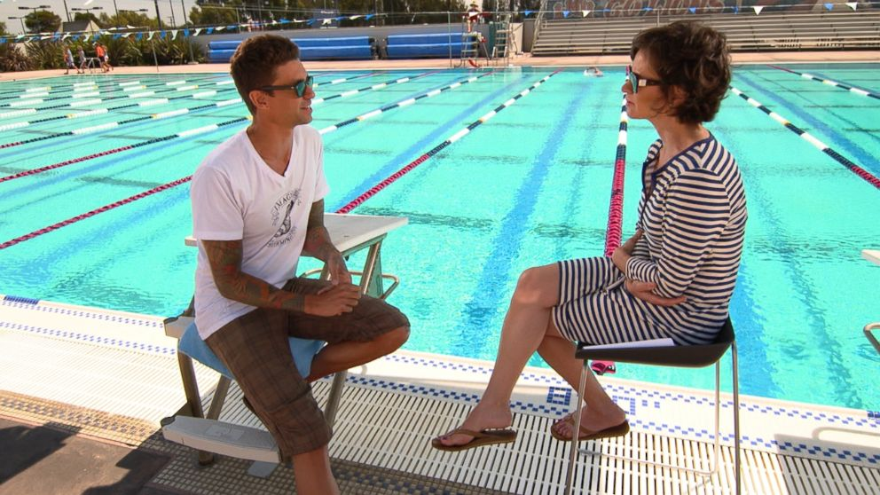 "Olympic swimmer Anthony Ervin sat down with ABC's Elizabeth Vargas for ""20/20."""