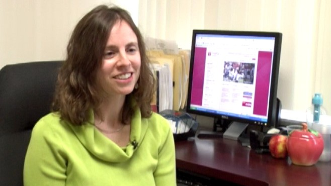 VIDEO: Temple Universitys Nicole Patience on adding veggies to popcorn and soda.