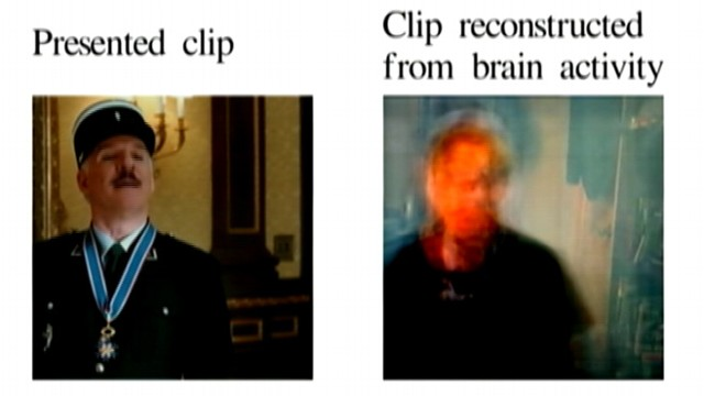 VIDEO: UC Berkeley researchers used brain imaging and computer modeling to guess which YouTube videos people were watching.