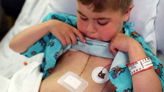 PHOTO: Colter Meinert, 9, got a his second heart transplant recently. Just a day after being born, doctors discovered Colter had hypoplastic left heart syndrome.